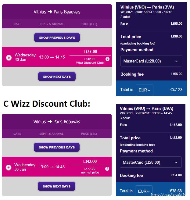 wizz discount