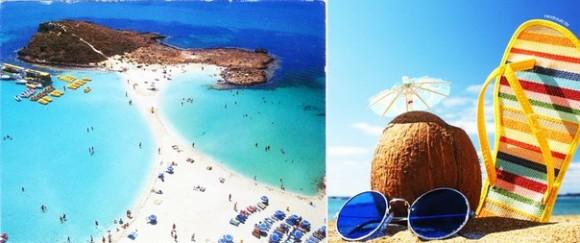 Ларнака, Кипр, море и пляж