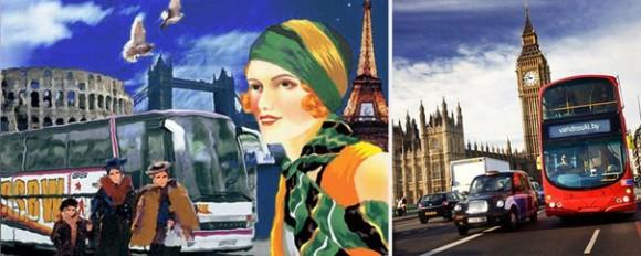 Автобусы, автобусные перевозчики Европы