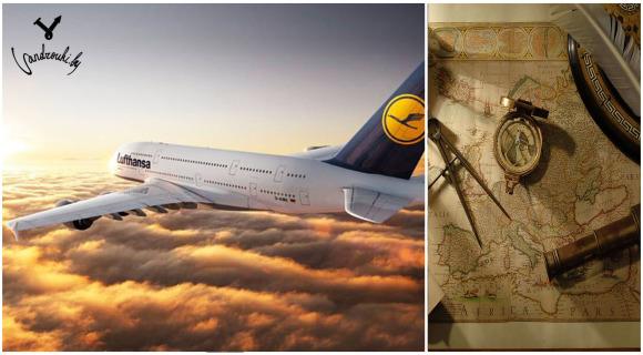 Lufthansa, самолет