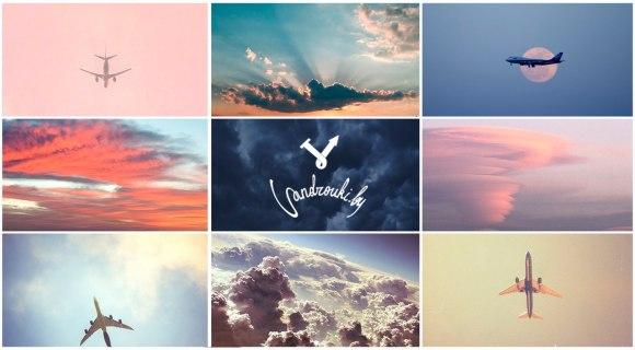 Самолет, небо, распродажа