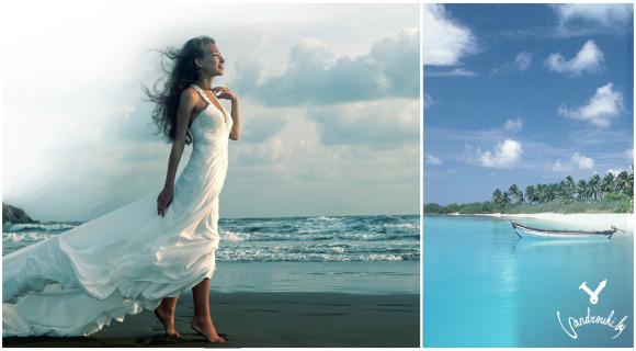 Гоа, Индия, море, пляж