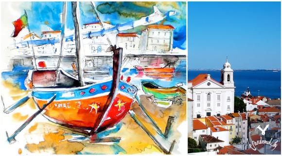Португалия, Лиссабон, Порту