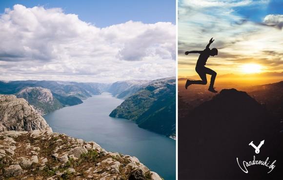 Норвегия, фьорд