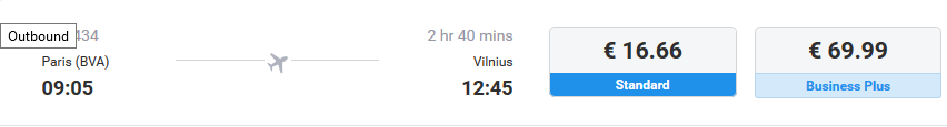 паривж-вильнюс