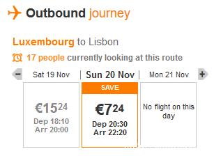 люксембург-лиссабон