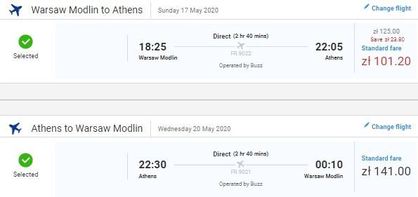Готовое путешествие в Афины: перелеты из Варшавы + 3 ночи в апартаментах всего за 89€ с человека