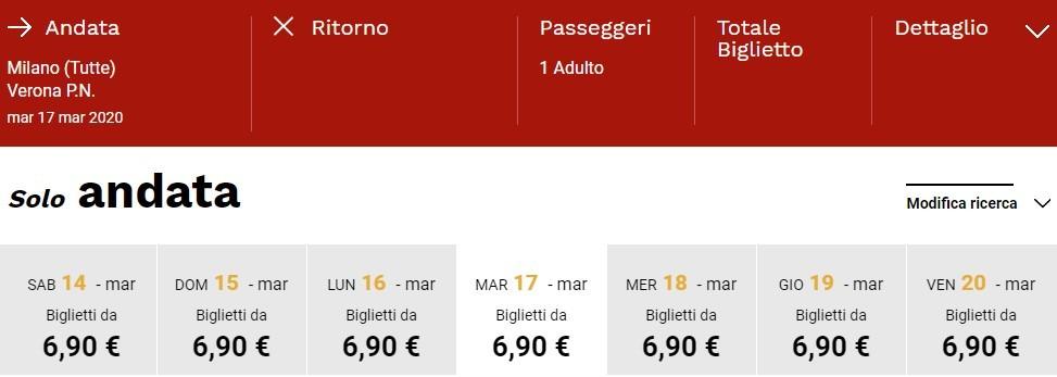 130 000 билетов на скоростные поезда Italo со скидкой до 50%