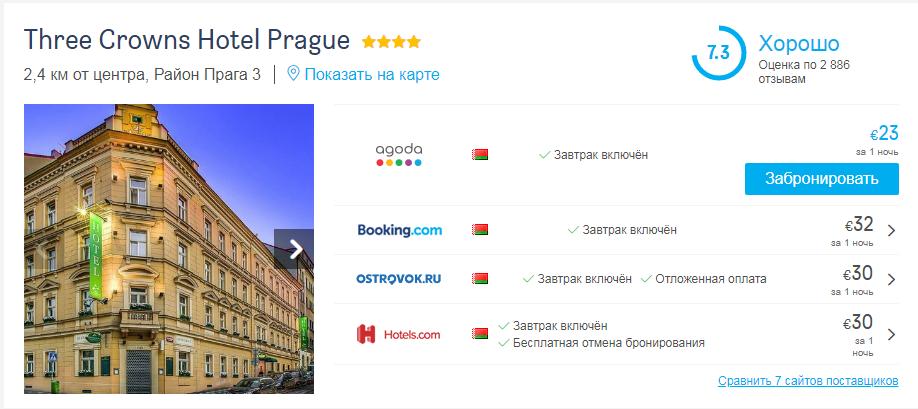 Подборка 4* отелей в Европе всего от 23€ (11,5€ с человека)