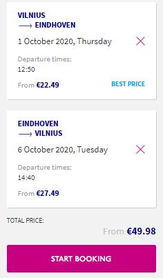 По дороге в Амстердам! Летим из Вильнюса в Нидерланды за 49€ туда-обратно.